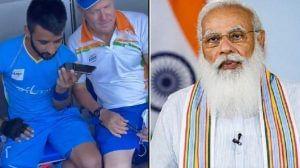 PM મોદીએ ભારતીય પુરુષ હોકી ટીમના કેપ્ટન મનપ્રીત સિંહ સાથે વાત કરી