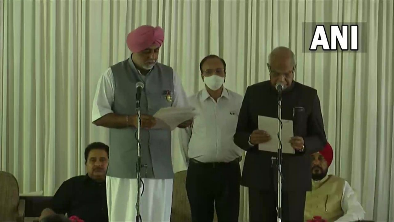 Expansion of Punjab CM Charanjit Singh Channy's Cabinet, 15 MLAs become Cabinet Ministers