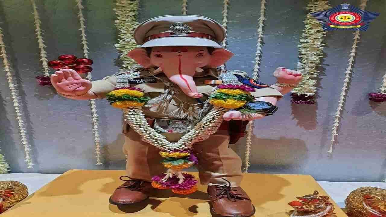 Mumbai Police welcomes lord Ganesha in special IPS officer avatar on Ganesh Chaturthi