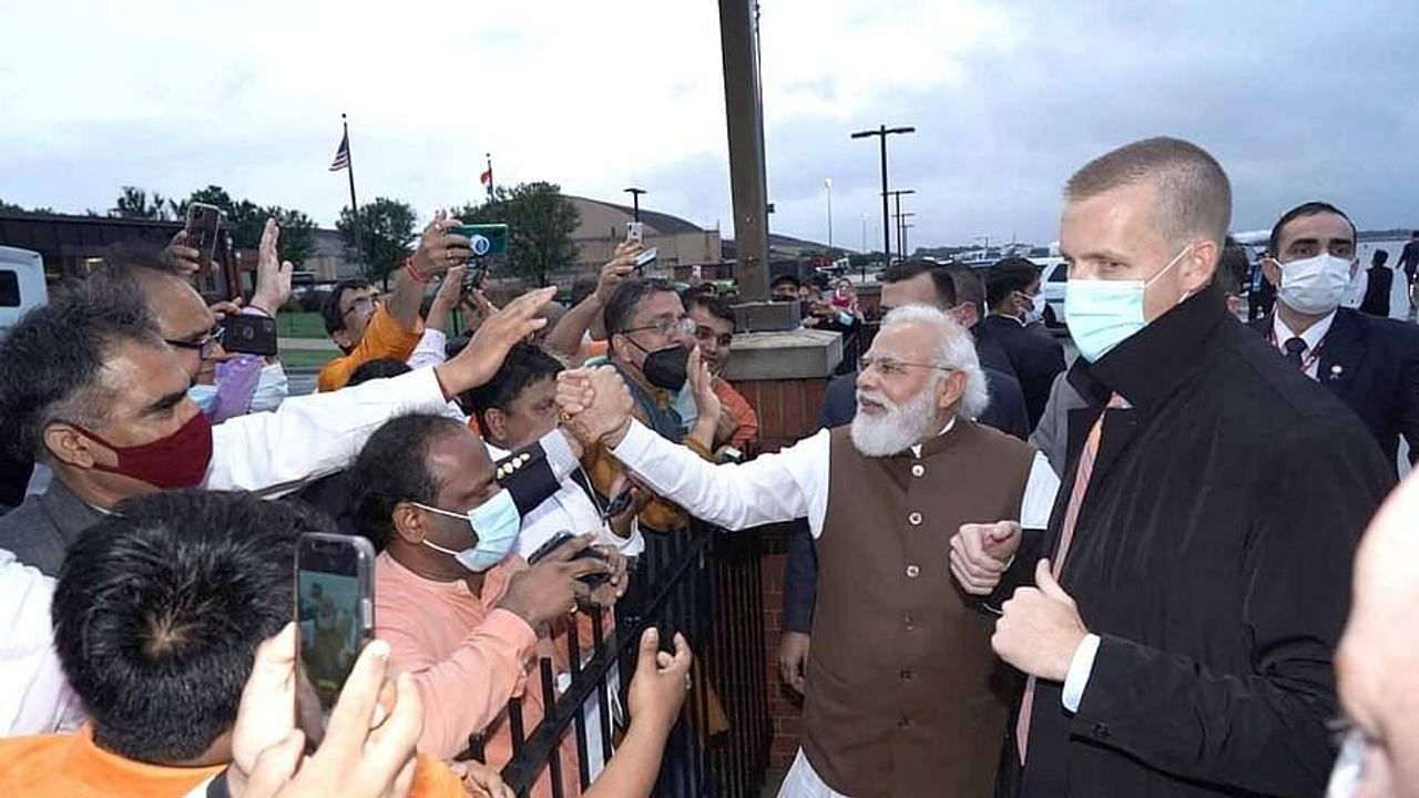 pm modi in us prime minister narendra modi praises nris living in other countries