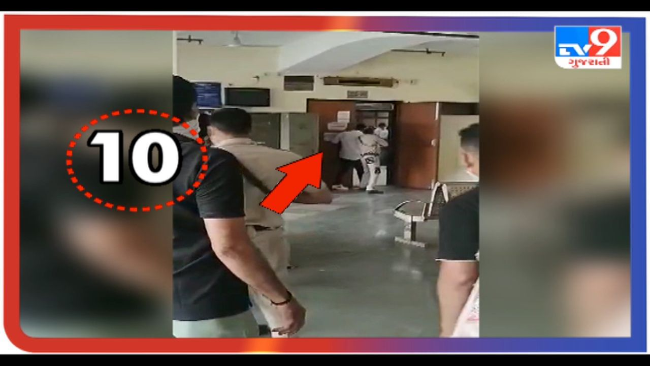 Shooting in Delhi's Rohini court, watch not one, not two, not three ...... video of ten rounds of fire