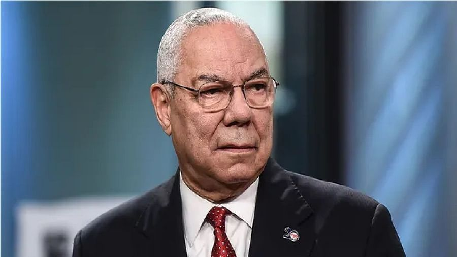 Colin Powell, America's first black secretary of state, has died