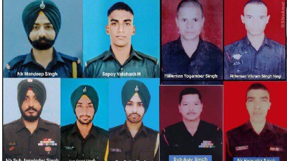 Jammu and Kashmir: Bodies of a JCO and a jawan found in Poonch, nine soldiers killed so far