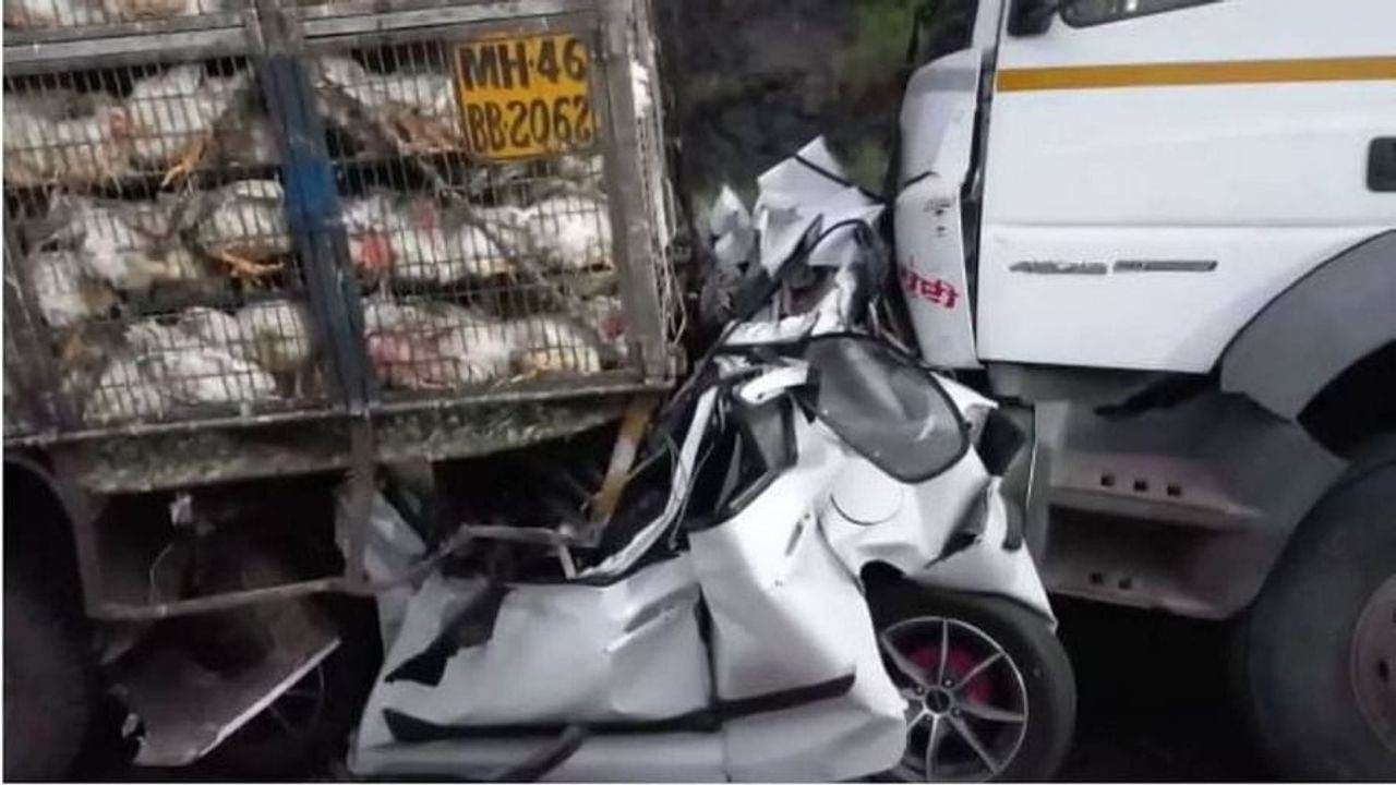 mumbai pune express way accident as 3 died and 6 injured